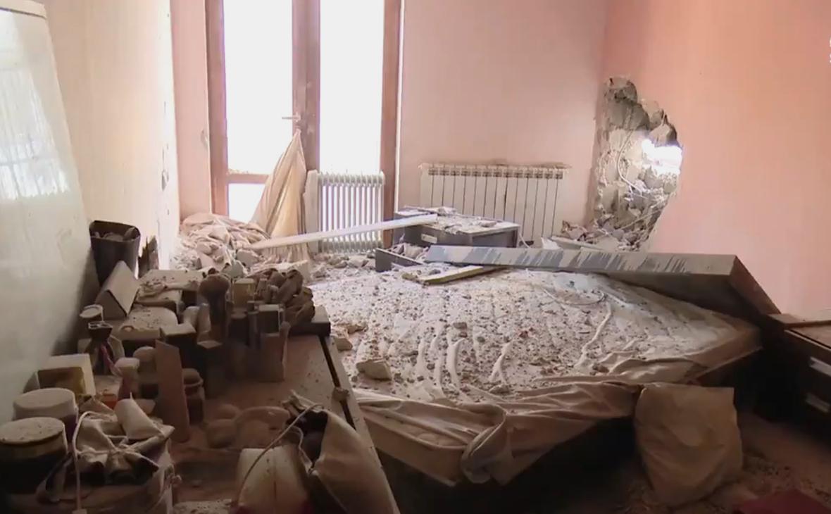 Азербайджан обстрелял дома мирных жителей Ирана